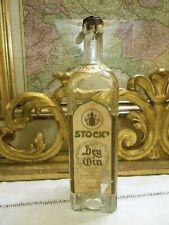 GIN anni1940 –SIGILLO REGNO TENDE STOCK'S DRY GIN PURO DISTILLATO DI GINEPRO