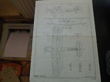 c1950s Hawker Hind - Model Aeroplane Chart