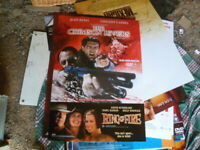 THE CRIMSON RIVERS  JEAN RENO 1 SHEET MOVIE POSTER AUST ISSUE