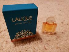 Lalique Eau De Toilette Mini Perfume .15 oz