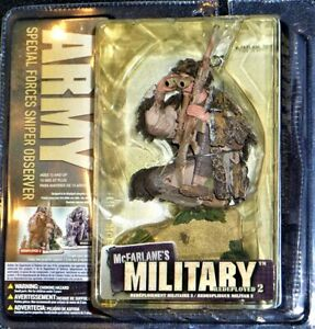 McFarlane's Military Redeployed Series 2 Army Special Forces Sniper Observer