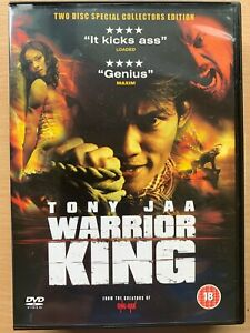The Warrior King DVD 2005 Thai Martial Arts Movie Classic with Tony Jaa 2-Disc