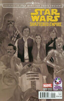 Journey To Star Wars Comic Issue 1 The Force Awakens Shattered Empire Variant