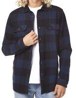 Men's Billabong Kingsman Flannel Long Sleeve Jacket. Size XL. NWT, RRP $99.99.