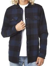 Men's Billabong Kingsman Flannel Long Sleeve Jacket. Size M. NWT, RRP $99.99.