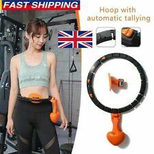 Smart Hula Hoop Lose Weight Exercise Detachable Portable Sports Circle UK