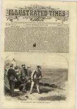 1866 disparo príncipe de Gales ejecutando ciervos Wimbledon, presión Austria Guerra