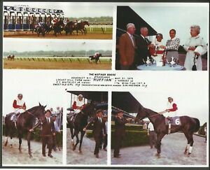 """1975 - RUFFIAN - 4 Photo Color Composite - The Mother Goose - 10"""" x 8"""""""
