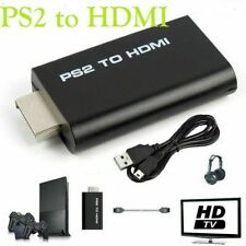PS2 to HDMI Converter Game to HDMI Video Audio Adapter for Playstation 2