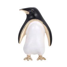Cartoon Enamel Penguin Animal Lapel Collar Brooch Pin Bouquet Women JewelryGK