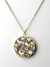 SWAROVSKI Kette Collier Dorado 5190017 Metall Gold Anhänger Kristalle Pastell