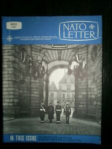 military history - NATO Letter March 1967 - Farewell to Fontainebleau