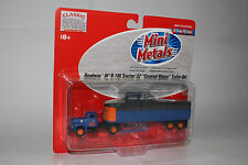 "CMW MINI METALS HO SCALE ROADWAY IH R-190/32' ""COVERED WAGON"" TRAILER SET"