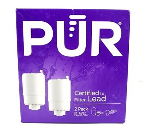 PUR RF3375 Faucet Water Filter Replacement White (2 Pack) Removes 72 Contaminant