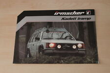 153012) Opel Kadett D Irmscher tramp Prospekt 198?