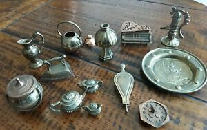 Vintage Small Brass Ornaments Lot
