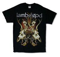 "LAMB OF GOD ""TANGLED BONES"" BLACK T-SHIRT NEW OFFICIAL ADULT METAL BAND MUSIC"