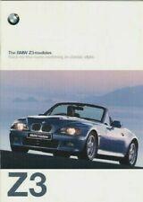 BMW Z3 Roadster 1997-98 UK Market Sales Brochure 1.9 2.8