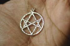 Celtic Unicursal Hexagram Sterling Silver 925 charm pentagram 5 Elements Jewelry