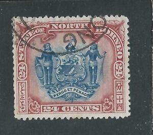 NORTH BORNEO 1897-1902 24c BLUE & LAKE FU SG 109 CAT £95