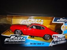Jada Chevrolet Chevelle SS rouge FAST AND FURIOUS 1/24