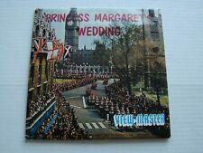 Princess Margaret's Wedding  ,view-master 3 reels   C  280