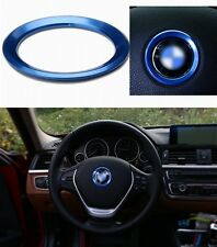 AUTO DECORATIVE ACCESSORIES Steering Wheel Center Logo Decoration Ring For BMW