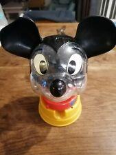 Distributeur bonbon mickey Walt Disney boules de gomme cacahuète 1970 vintage