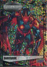 Marvel Vibranium Raw Parallel Base Card #55 Darkhawk