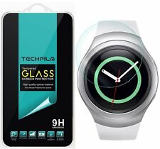 TechFilm® Tempered Glass Screen Protector Saver Shield For Samsung Gear S2