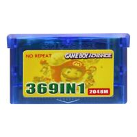 Game Boy Advance 369 in 1 Game Multicart for GBA - Game Cartridge US Version