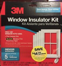 3M Indoor Tape Kit Insulation Shrink Covering Treatment Film Wrap Glass 5 Window