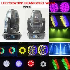 led 150w gobo beam spot moving head light 3face prism stage wedding dj lighting