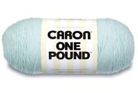 Yarnspirations Caron One Pound (Pale Blue) 812 Yards Yarn Knitting Crochet, 1lb
