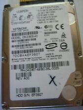"Hitachi 2.5"" HDD IDE PATA LAPTOP Hard Disk Drive, 40GB 5400RPM"