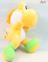 "Super mario bros Yellow running yoshi 8"" soft Stuffed plush toy figure Doll Gift"