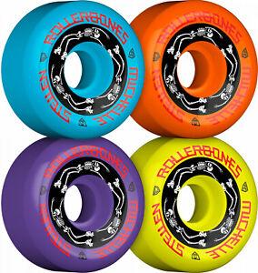 Rollerbones Moxi Michelle Steilen Wheels 57mm MULTI COLOR 101A 4pk NEW