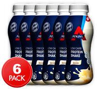 6 x Atkins Low Carb Protein Shake Creamy Vanilla 330mL