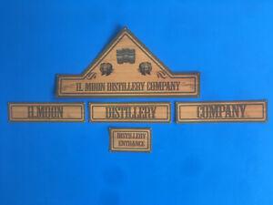 Playmobil Western * Distillery *autocollant - Sticker Western