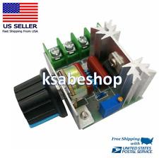 2000w 110v Ac Scr Voltage Regulator Adjustable Motor Speed Control Controller