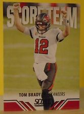 2021 Score Football complete your INSERT sets -Next Level -Game Face -Tom Brady+