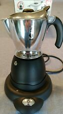 Vintage Bialetti Mukka Express electric cappuccino make iob w/instructions