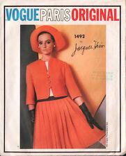 UNCUT VTG 1965 Vogue Paris Original Sewing Pattern - Jacques Heim Dress & Jacket
