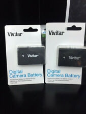 Power 2000 2 x Nikon EN-EL9 High Capacity Replacement Battery Compatible