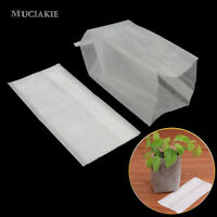 100PCS Seedling Plants Nursery Bags Organic Grow Bags Fabric Planting Bags-