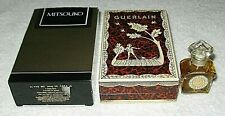 Vintage Guerlain Mitsouko Perfume Bottle & Box 1/4 OZ Sealed Full