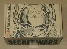 Marvel Collector Corps Secret Wars Funko Pop Box L Lady Thor 97 Spider-Man 98
