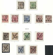 German East Africa collection of 14 CLASSIC stamps  HIGH VALUE