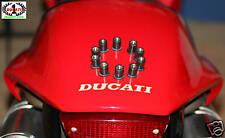Rubber well nuts Fasteners, Ducati 748 916 996 998 888 851 Cagiva Mito M6