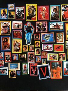 Lot of 83 V The Visitors Stickers from Magazine 1984 Very Rare 0721